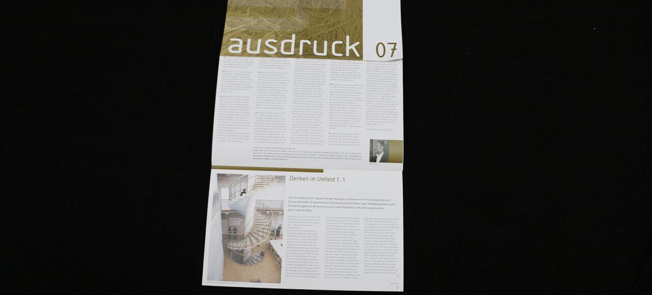 AUSDRUCK 07